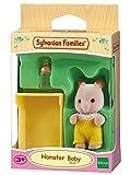 SYLVANIAN FAMILIES Baby Bebe Hamster SYLVANIAN, 5122, Multicolore