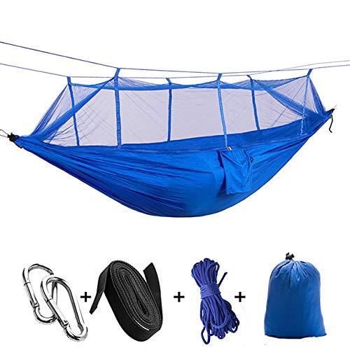 DIRUIDA Hammock Outdoor Portable,260 * 140Cm Ultralight Parachute Hammock Hunting Mosquito Net Double Person Sleeping Bed Drop-Shipping