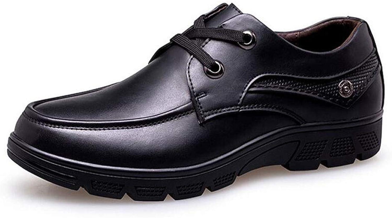 Classic Men's Therapeutic Diabetic Extra Depth Dress shoes Leather Lace (color   Black, Size   47 EU)