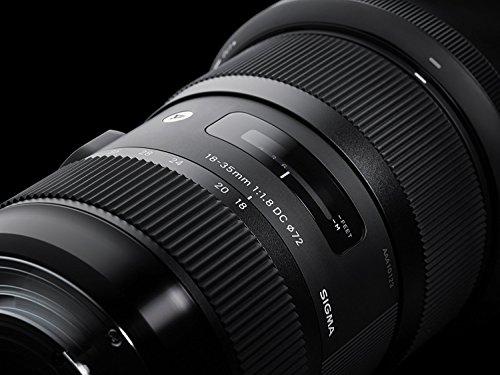 Sigma 18-35mm F/1.8 DC HSM Lens for Canon APS-C DSLR Cameras (Renewed)