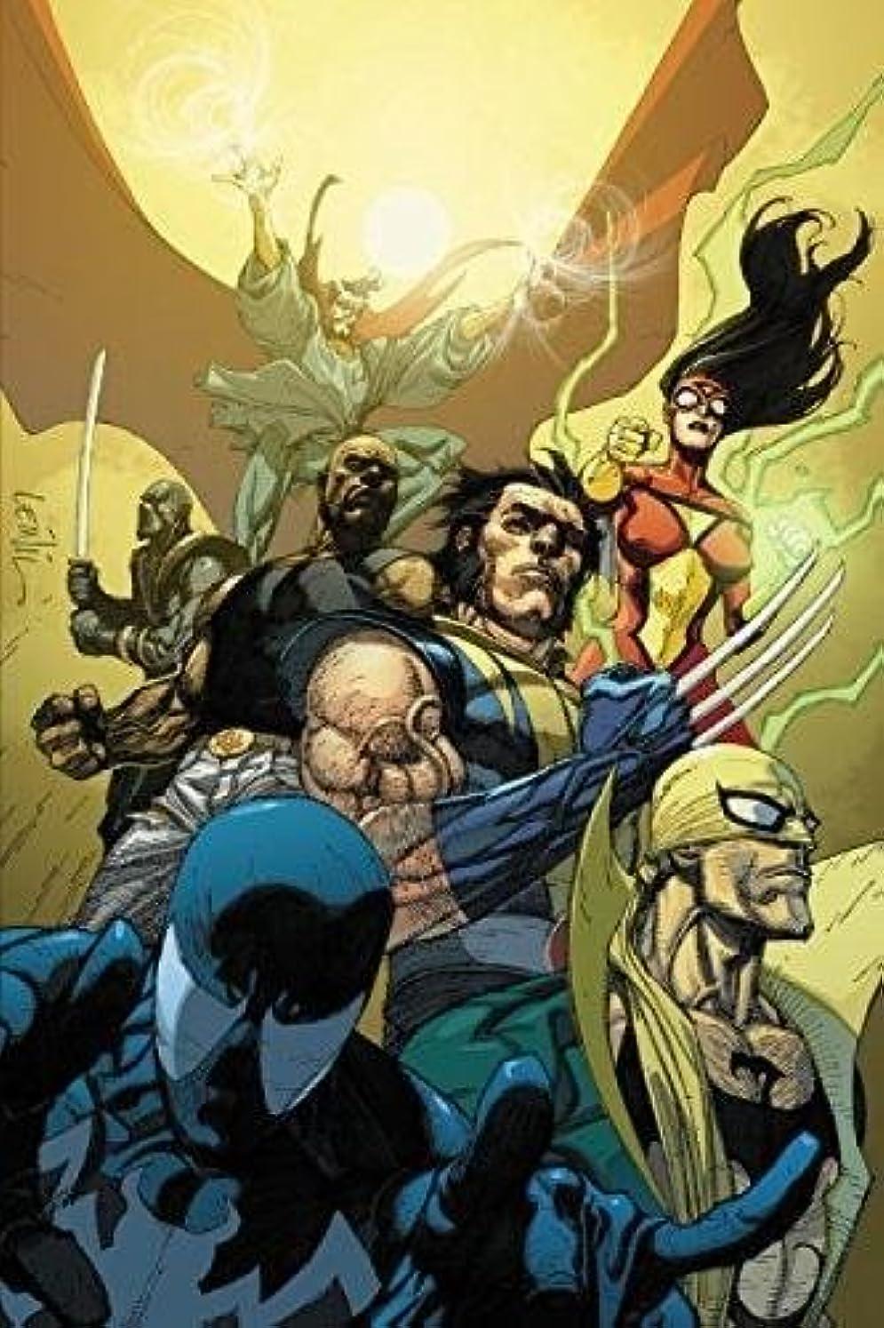 フライト失速好奇心盛New Avengers by Brian Michael Bendis: The Complete Collection Vol. 3