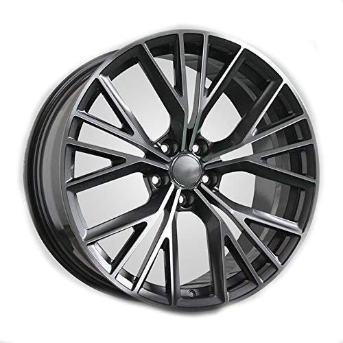 GYZD Alu Felgen 20 Zoll Durchfluss geschmiedete Radlegierung Ersatzrad Auto Rad Maschine Aluminium Felge Passend für R20 *8.5J Reifen Geeignet für a4l a6l a3 a4 a7 a5 q7 1 Stück,A