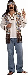 Forum Novelties Men's Groovy Hippie Costume Shirt and Headband