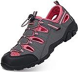 Sandali Estivi Donna Esterni PelleTraspirante Casual Sneakers Sandali Sportivi Scarpe da Trekking Passeggiata...