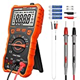 LOMVUM Digital Multimeter Tester, TRMS 6000 Counts Auto-Ranging Volt Meter; Measures Voltage Tester, Current,...