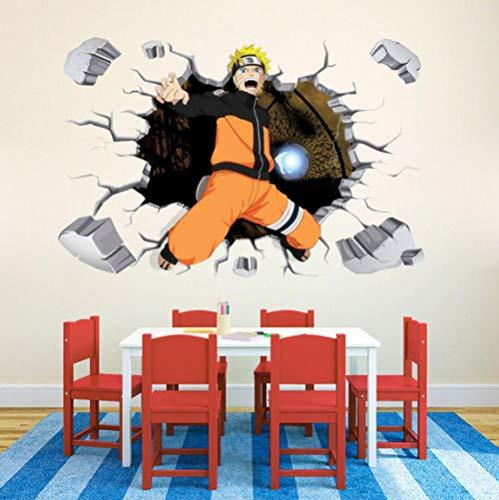 3d Wandtattoo Naruto Naruto 60x90cm Wandaufkleber Schlafzimmer Wohnzimmer Küche Home Decoration Tapete