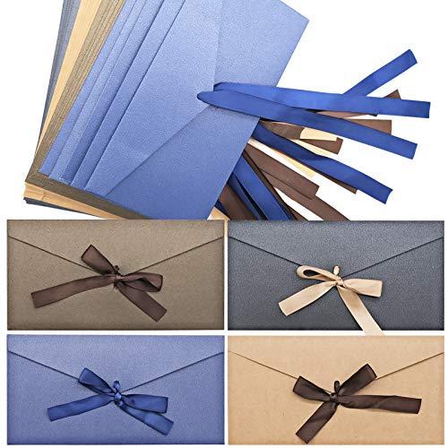 Kraftpapier Umschläge, Retro Kraftpapier Vintage Kraft Briefumschläge für Geschenkkarten(20 Stück)