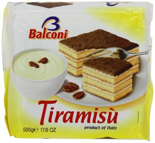 Balconi Torta Tiramisu Cake 500 g (Pack of 6)