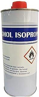 Alcohol ISOPROPILICO 99,9% EN LATAS METÁLICAS DE 1 LITRO Limpieza ÓPTICA DESENGRASANTE Tinta