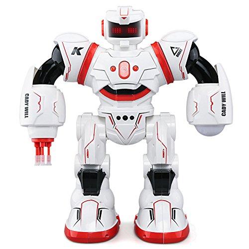 JJRC R3 RC Robot[2017],Beetest® Giocattolo Robotico R3 CADY WILL Radiocomandato Telecomandato Intelligente Robot [RC Control Azione del Sensore di Gesto],Intelligent Combat Dancing Gesture RC Robot