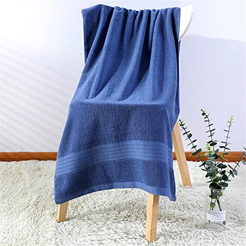 Alrededor de 70x140cm de Espesamiento de algodón Azul Verde púrpura Blanco Moda Simple fácil Limpieza Exquisito Adulto Toalla de baño-C4 Toallas de multipropósito para baño Manos Cara Gimnasio y