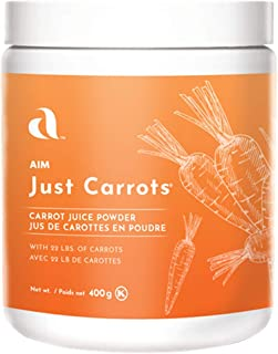 Sponsored Ad - AIM Just Carrots for great carrot juice net wt,14.1oz/400g by AIM International