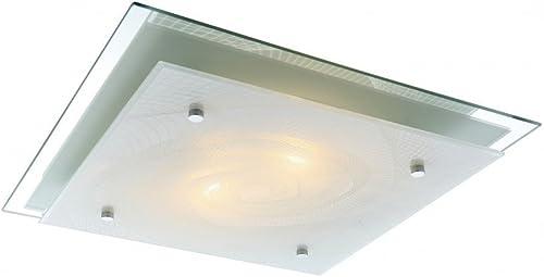 Plafonnier RVB LED 14 watts changeur couleurs luminaire plafond lampe métal verre