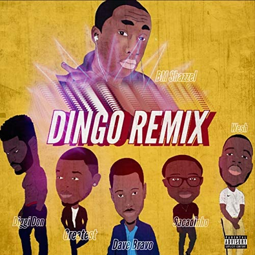 Dave Bravo feat. The Greatest, Diggi Don, Sacadinho, Wesh & BM Shazzel