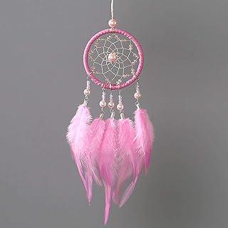 OUKA Dreamcatcher,Tricolor mini car pendant original handmade dream catcher pendant, suitable for bedroom, living room, ca...