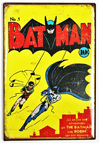 ART/ARTWORK FEATURED ON A MAGNET - Licensed Collectibles, Nostalgic, Vintage, Antique And Original Designs - GREAT COMIC BOOK CHARACTER / SUPERHERO THEME [3542801966] -