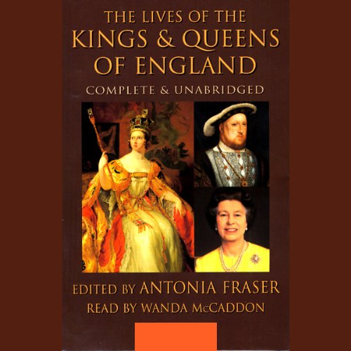 The Lives of the Kings and Queens of England cover art