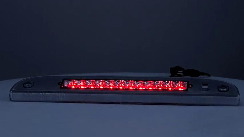 DNA MOTORING 3BL-F15097-LED-T2-BK-SM Brake Light