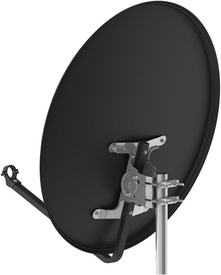 Opticum Antena parabólica de Aluminio 80 cm Izquierda - 80 (3 HDTV Full HD