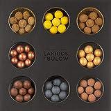 LAKRIDS BY BÜLOW - SELECTION BOX - 335g - Pralinen-Geschenk mit Dänischen Gourmet Lakritz-Kugeln - Weicher Lakritzkern umhüllt von Cremiger Schokolade - Lakritz Schokoladen Geschenk