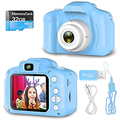YOHE Kids Camera Toys for 1 - 6 Year Old Girls and Boys,Best Birthday Gifts for Toddlers Age 1 2 3 4 5 6.HD Digital Video Cameras for Toddler,Portable Compact Size for Girl and Boy by YOHE