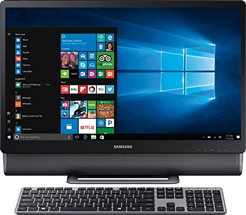 Samsung 24' Full HD Touch-Screen All-in-One Computer 2018 Newest Desktop, Intel Core i5-7400T Up to 3.0GHz, 12GB DDR4, 1TB HDD, WiFi, Bluetooth, Windows 10, Titan Gray