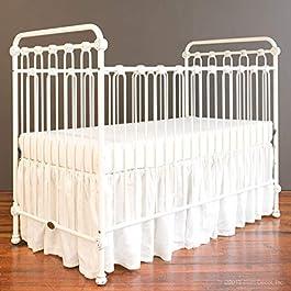Bratt Decor Joy Baby Crib Distressed White