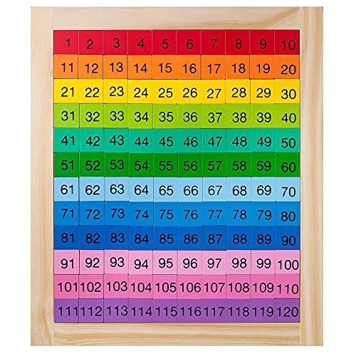 Toy Scholar Montessori Hundred Board 1-120 /...
