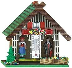 german weather house barometer
