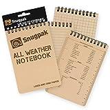 Snugpakすべての天気ノートブックLarge Tan