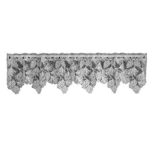 Heritage Lace Woodland 60-Inch Wide by 16-Inch Drop Valance, Ecru