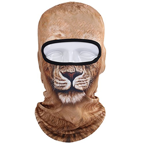 WTACTFUL Animal Balaclava Face Mask Breathable Wind Dust UV Helmet Liner Protection Skiing...