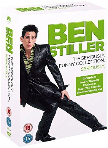 Ben Stiller Coll. Tropic Thunder/ Zoolander/Meet The Parents The Heartbreak Kid [Edizione: Regno Unito] [Reino Unido] [DVD]