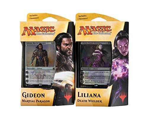 Magic The Gathering Amonkhet Planeswalker Decks Set - 150 cards - Gideon & Liliana