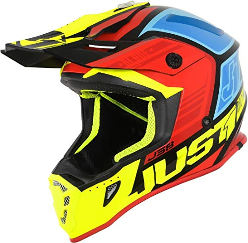 Just 1 Helmets J38 Blade Black-Yellow-Red-Blue M