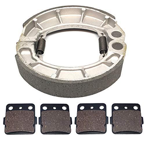 Motadin Front Rear Brake compatible with Shoes Pads Honda RANCHER 420 4X4 TRX420FM1 TRX420FM2 2014-2018