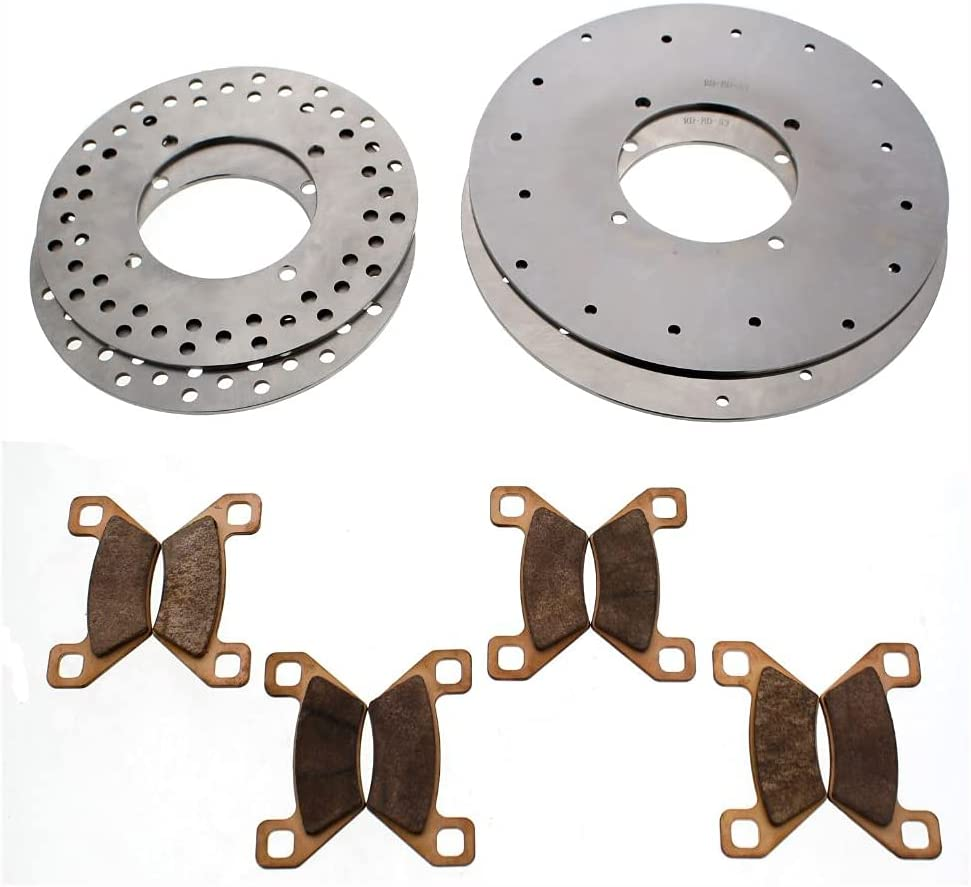 2011-2013 Arctic Cat Prowler 700 Translated Rear Front Popular product HDX Brake Rotors