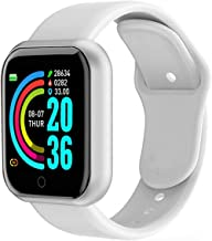 Smart Horloge Mannen Waterdichte Sport Fitness Stappenteller Smart Armband Bloeddruk Hartslagmeter Smartwatch (Kleur: Roz...