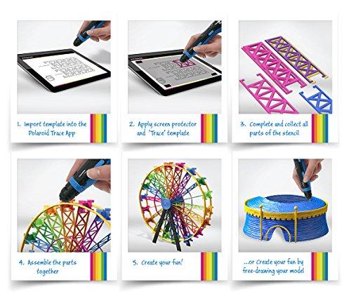 Polaroid Play 3D Pen, macht Spaß einfach. Besondere App verfügbar! - 7