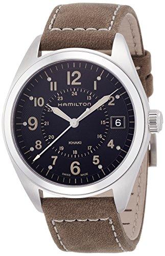 Hamilton Reloj Analogico para Hombre de Cuarzo con Correa en Cuero H68551833