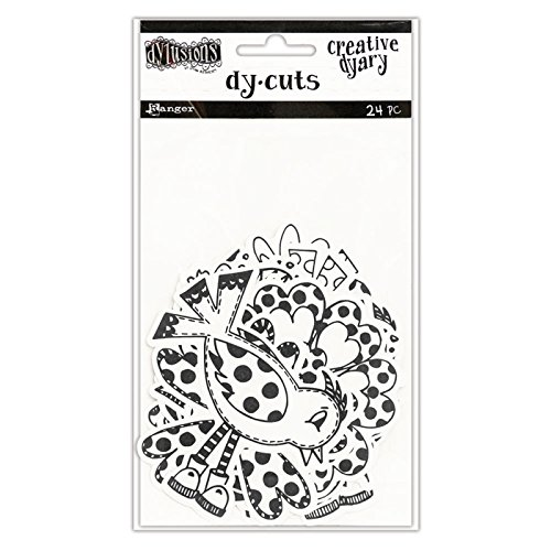 Multi-Colour Ranger Dylusions Creative Dyary Ink Set Synthetic Material 20.3 x 7 x 2.2 cm