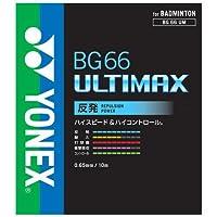 ヨネックスYONEX BG66アルティマックス (001)レッド YNX-BG66UM-001 サイズ
