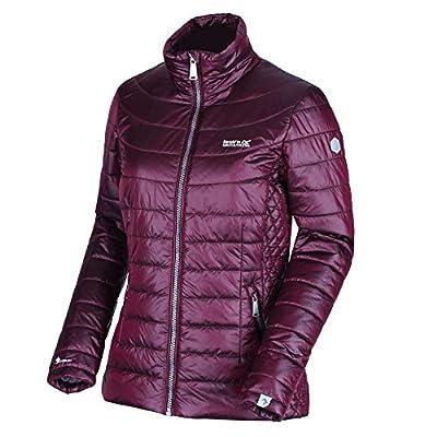 Regatta Women's Metallia Ii Lightweight Water Repellent Down-Touch Atomlight Insulated Puffa Jacket Baffled/Quilted