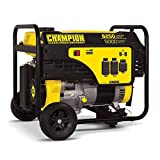 Champion 5000-Watt Portable Generator with Wheel Kit