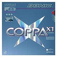 DONIC(ドニック) 卓球 コッパ X1 タ―ボ 裏ソフトラバー レッド 2.0 AL051