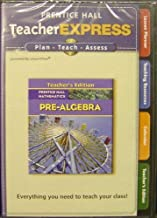 Teacher Express T/a Pre-Algebra CD'S (Teacher's Edition, 2 CD Set, Prentice Hall Mathematics)