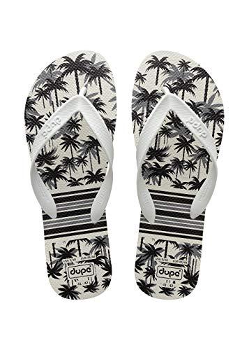 Dupé Men's Flip Flops Summer White / 43-44