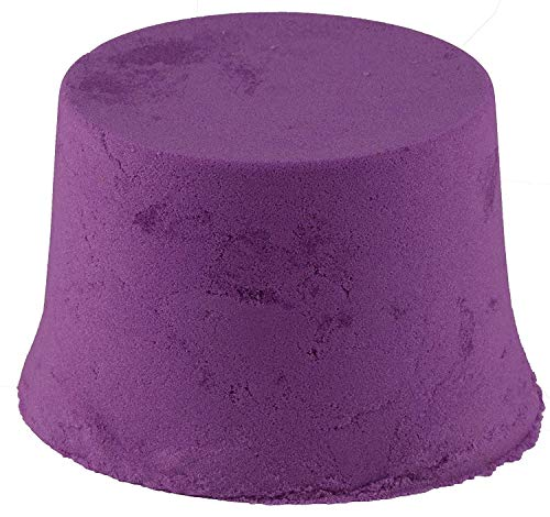 RATNA'S Wonder Sand 500 Grams for Play. Smooth Sand for Kids (Purple 500 Grams), ONE Big Mould Inside (Without Tray) 5