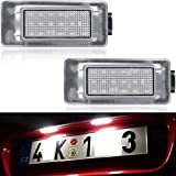 Xenon White LED License Plate Lights for 2016-2021 Nissan Serena C27 & 2019-2021 Nissan Altima Rear License Plate Lamps built-in Can-bus Error Free