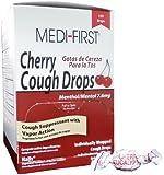 Medique MS75890 Medi-First Cherry Cough Drop (1 Box)